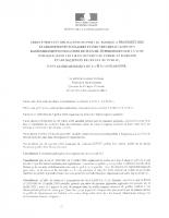 Arrêté Préfectoral port du masque obligatoire
