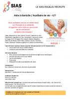 Offre emploi Aide à domicile SIAS- divers secteurs_septembre 2021